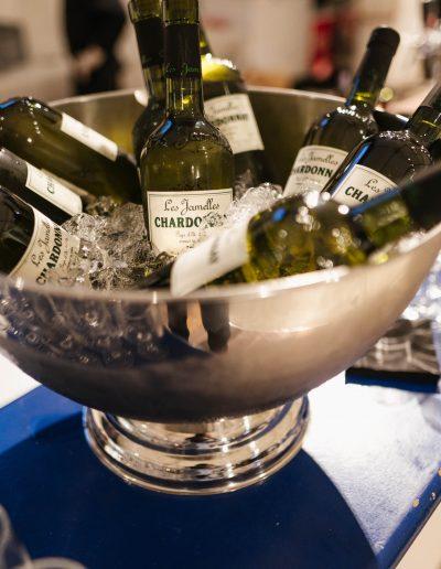 Evénement seau à bouteilles de vin