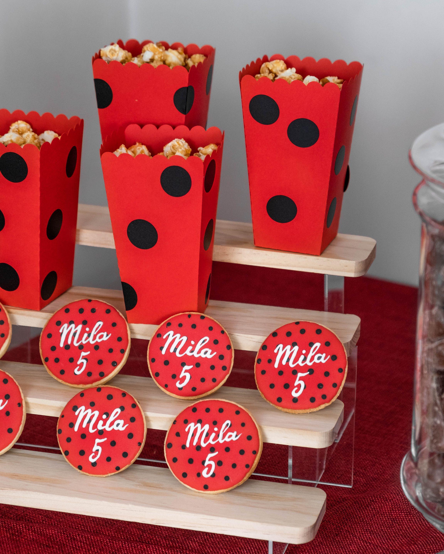 Biscuits personnalisés Miraculous organisé par Pils event Grenoble