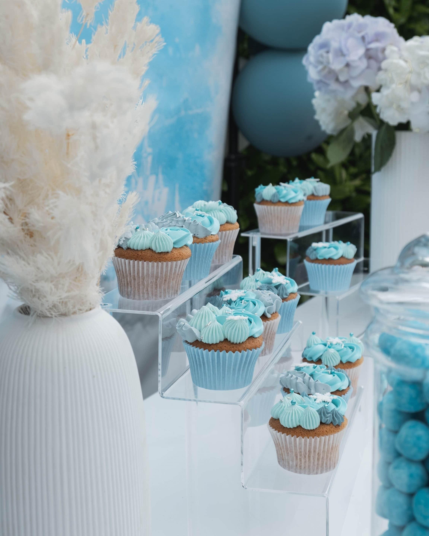 Sweet table évènement Reine des neiges organisé par Pils event
