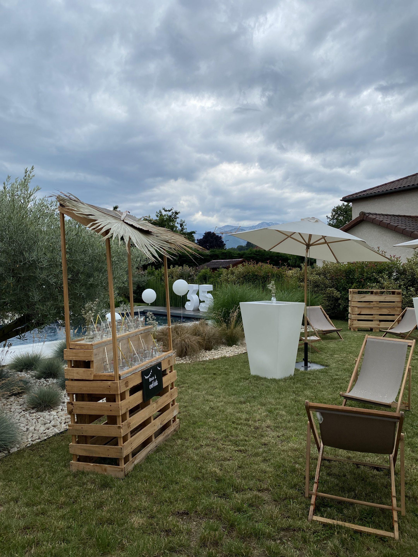 Garden party grenoble organisé par Pils event
